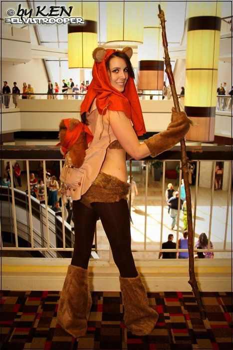 38 best ewok images on pinterest halloween decorating ideas womens ewok costume with a full shirt of course solutioingenieria Gallery