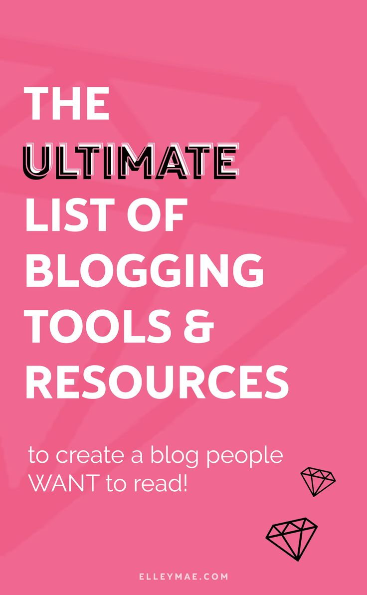 25 Essential Blogging Tools In Every Pro Bloggers Toolkit | So you want to start a blog but you're unsure what blogging tools you're actually going to need hey? Well, get instant access to the ultimate list I've put together so you don't have to waste time Googling aimelessly (like I did). Use Tailwind to put your Pinterest on autopilot, grow your following with BoardBooster, write amazing blog posts with Grammarly & so much more. This is THE ULTIMATE list for pro bloggers! | ElleyMae.com