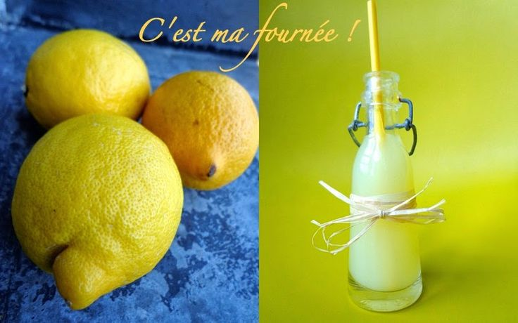 La vraie citronnade (pas le citron pressé, hein !)...