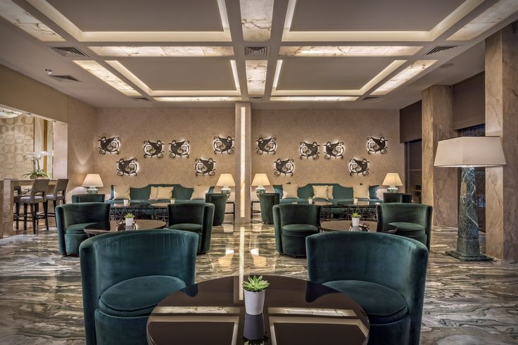 Lounge Area of Divani Palace Acropolis  http://divaniacropolishotel.com/