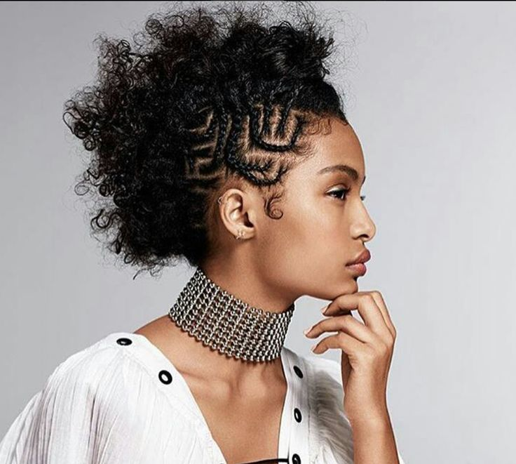 Unique faux hawk by @lacyredway - http://community.blackhairinformation.com/hairstyle-gallery/natural-hairstyles/unique-faux-hawk-lacyredway/