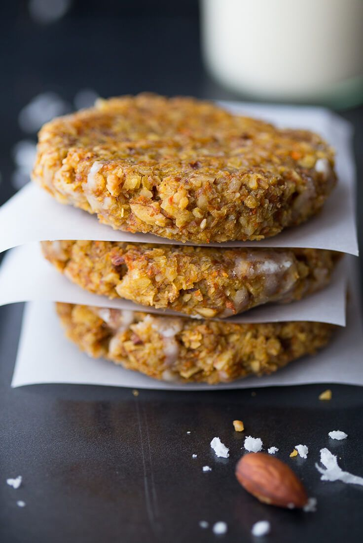 Carrot Cake Cookies (Whole 30)