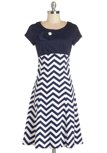 Pep Valley Dress. Can we get three cheers for this darling, 60s-retro-inspired A-line dress? NaN