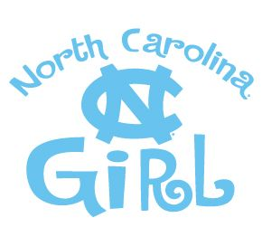 carolina tarheel girls photos | North Carolina Tarheels Girl Clear Vinyl Decal CAR Truck Sticker UNC ...