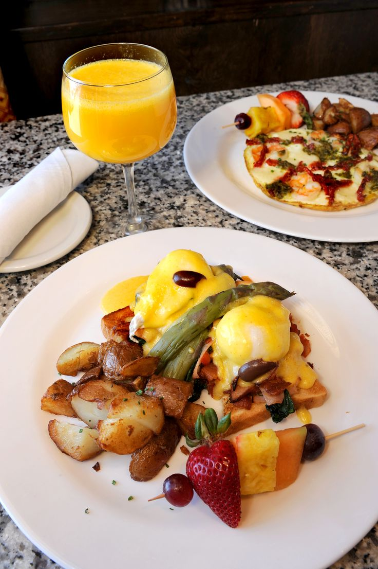 Brunch at La Baguette Bistro in OKC. Every day!