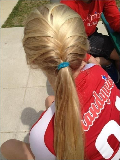 Visit for more Simple hairstyles for the sport #Hair design #Hairstyles #hair #simple hairstyles