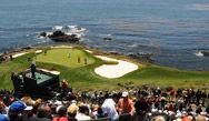 Golf Tournaments  pebble beach pro am schedule  Wednesday is practice rounds and 3M celebrity challenge 11:00 am holes 1,2,3,17 and 18