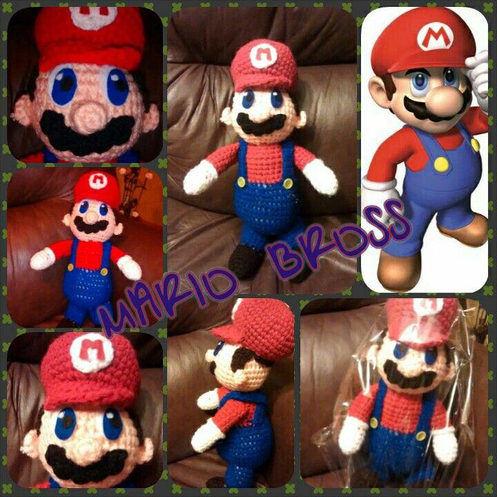 Mario bross amigurumi