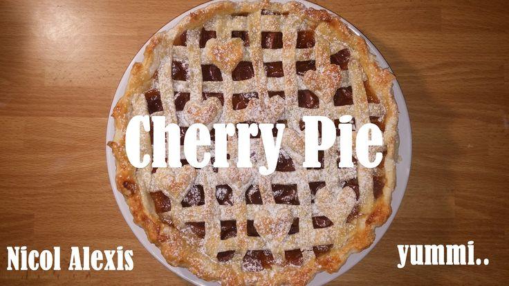 Cherry Pie  #cherry #pie #cake #tasty #yummi #baking #cooking #easy #friends #food #meal  #sweet