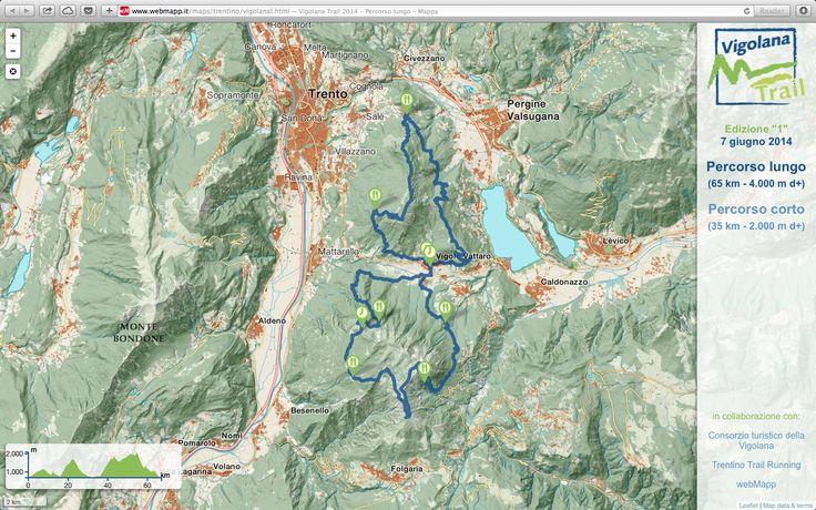 #Vigolana Trail - The new web map.