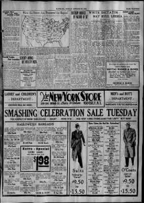 The Evening Times from Sayre, Pennsylvania on October 30, 1933 · Page 13