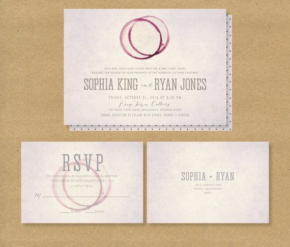 WINE TASTING Bridal Shower Invitation - Printable - Winery or Wine - invitation template online