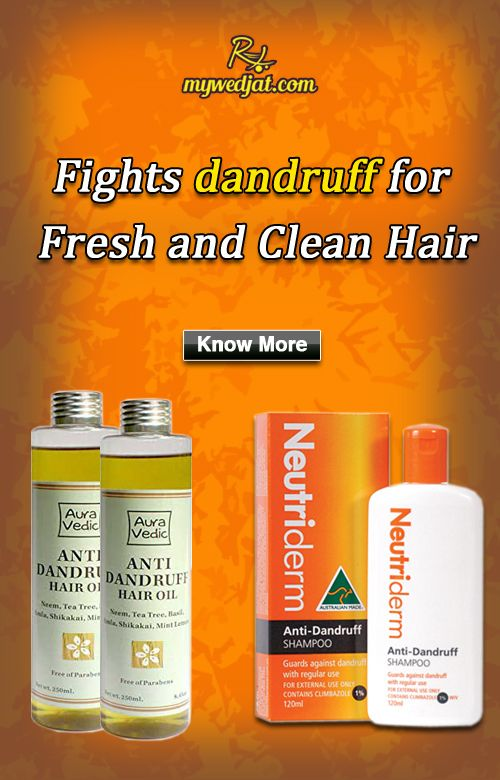 """""""It is formulated to help combat dandruff"""""""