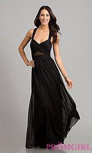 Buy Floor Length Black Formal Dress at PromGirl