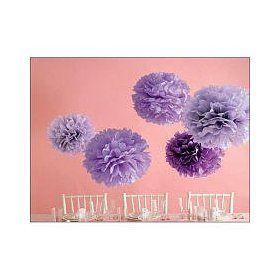 Martha Stewart Crafts Pom Poms, Purple, 2 Sizes $13.97