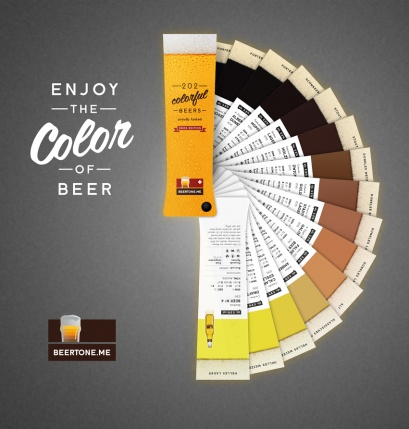 Beertone ~ Pantone inspired Beer chart