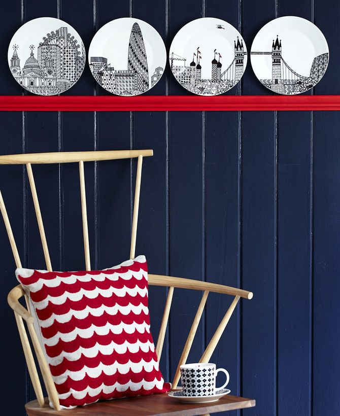 Charlene Mullen for Royal Doulton 'London Calling' and 'Mixed Accents' Dinnerware Range
