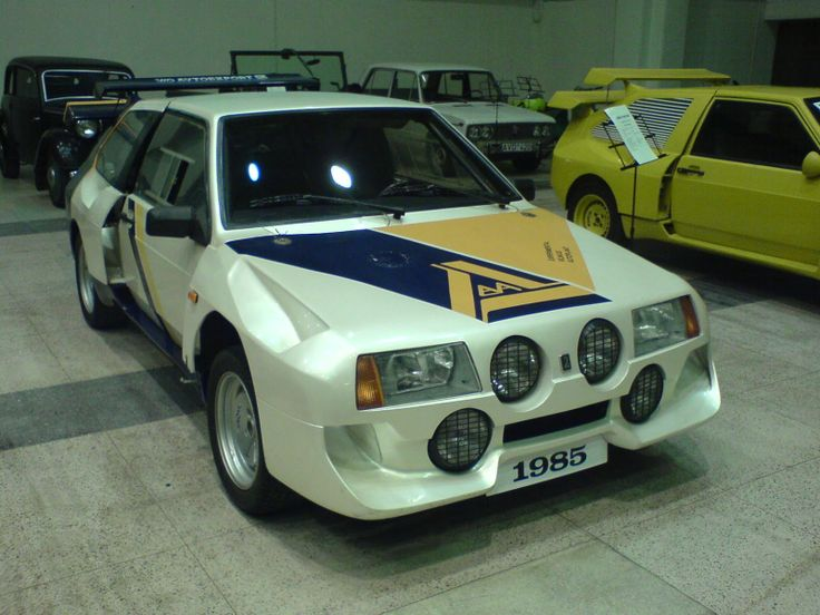Lada Samara EVA Group S (prototype) rally car