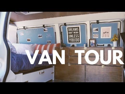 Converted Chevy Express VAN TOUR (Ultimate Stealth Van!!) [based off The Vanual] - YouTube