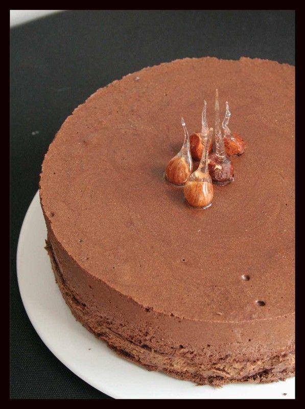Entremets croustillant et moelleux au chocolat !