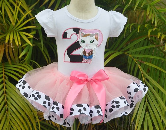 Sheriff Callie party dress