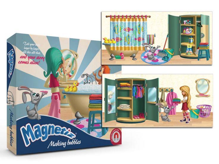 JUEGO DE MESA MAGNÉTICO MAKING BUBBLES (20,90 €) #juegosmagneticos #juguetes  http://www.babycaprichos.com/juego-de-mesa-magnetico-making-bubbles.html