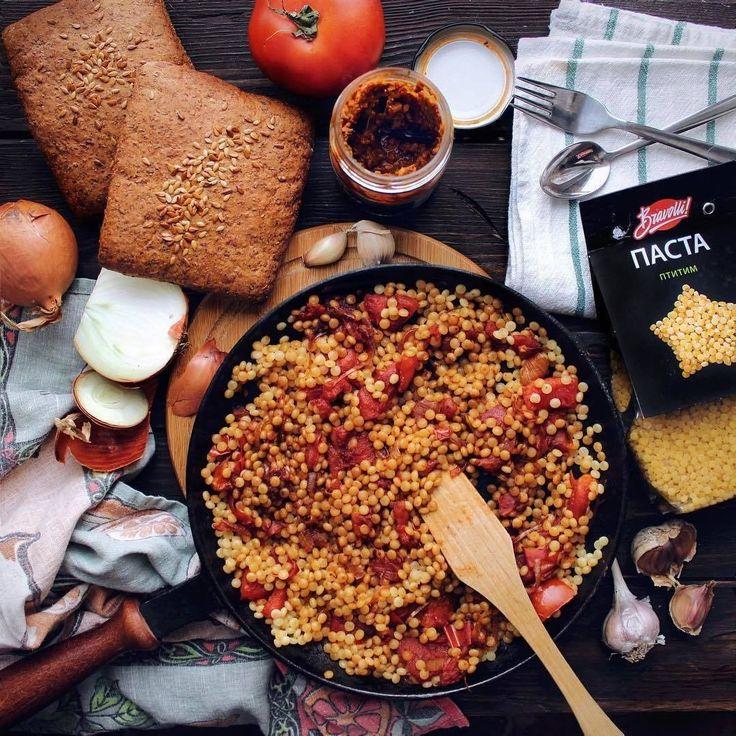 215 отметок «Нравится», 3 комментариев — Рецепты Bravolli! (@bravolli.ru) в Instagram: «Птитим – продукт твердых сортов пшеницы, который производят по макаронной технологии. Прост,…»