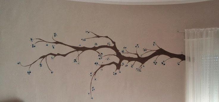 Vive, Crea, Scrapea: Un árbol en la pared