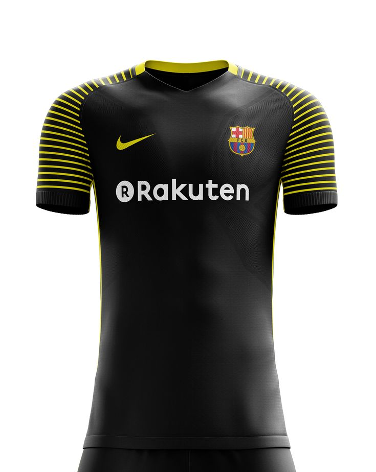 I designed football kits for FC Barcelona for the upcoming season 18/19. I designed football kits for FC Barcelona for the upcoming season 18/19. the home kit is inspired by shape of the buildings in Barcelona the away kit is black with yellow the thir…