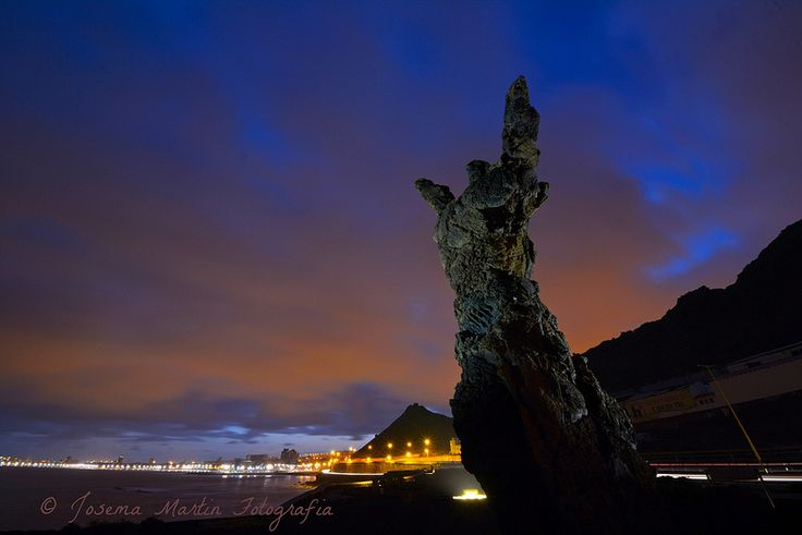 El Atlante   por josema Martín fotografia#gran #canaria #canary #island #paisaje #landscape #islas #canarias #paysage #Landschaft #风光 #風光 #풍경 #scenario #пейзаж #atardecer