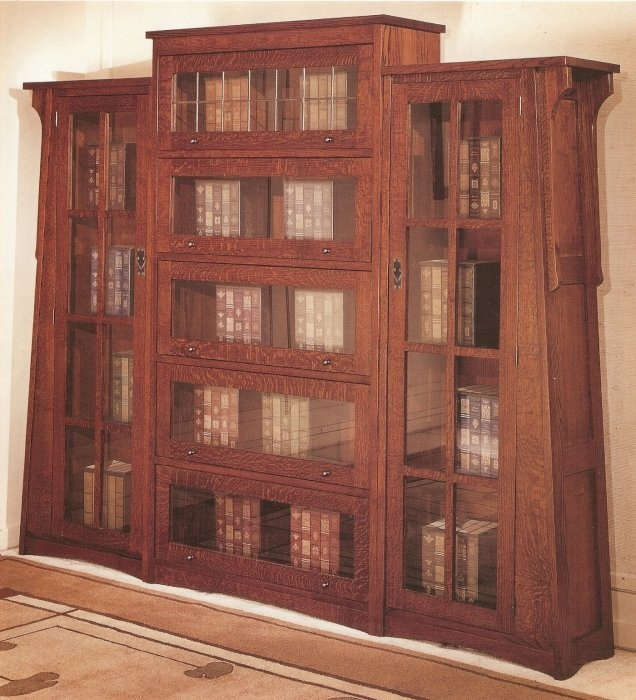 253 best elbert hubbard dard hunter and the roycrofters for Craftsman style bookcase plans