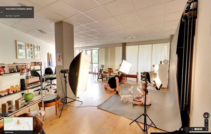 Visita virtual estudio fotografico teresa relancio - Estudio de decoracion de interiores ...