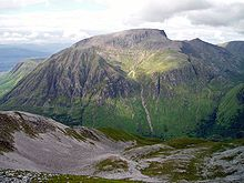 Ben Nevis (Scottish Gaelic: Beinn Nibheis, pronounced[peˈɲivəʃ]) is the highest mountain in the British Isles. It is located at the western end of the Grampian Mountains in the Lochaber area of the Scottish Highlands, close to the town of Fort William.