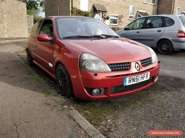 Renault Clio 172 (Modified No Reserve) #renault #clio #forsale #unitedkingdom