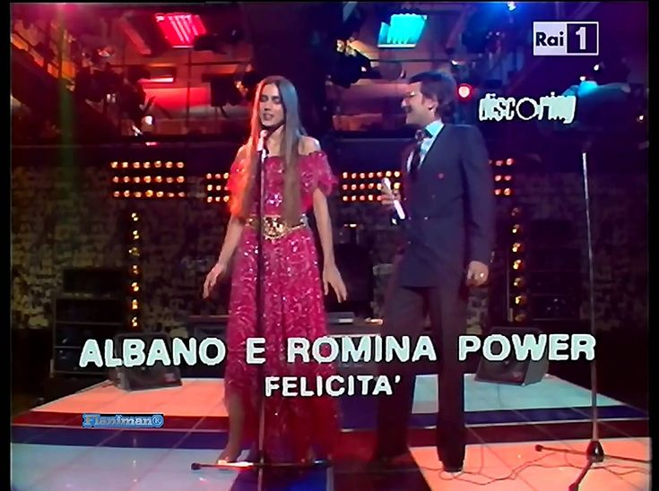 ♫ Albano e Romina Power ♪ Felicità (TV Show 1982) Video & Audio Remaster...