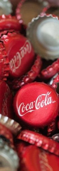 Coca Cola - makes me think of my dad:)