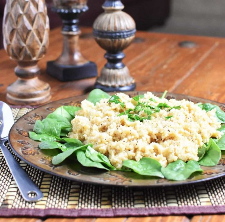 Creamy and satisfying Quinoa Pilaf with white quinoa, orzo, shallots and garlic is filling enough for a hearty side dish or a light main dish!