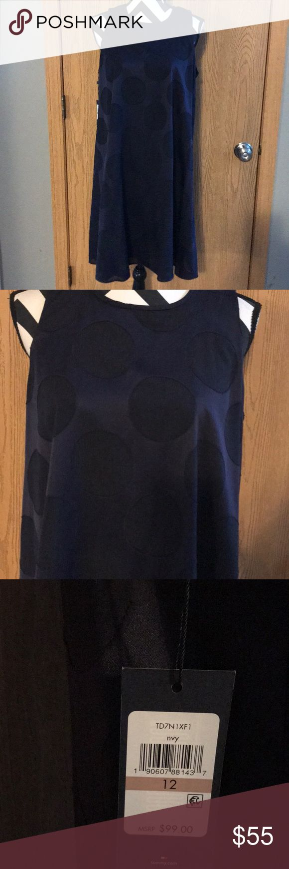 Tommy Hilfinger Beautiful Trapeze style dress brand new with tags Tommy Hilfiger Dresses Midi