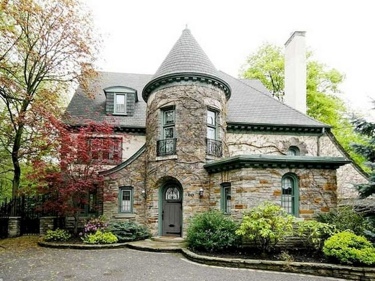 36+ Amazing Modern Castle Homes Exterior Landscaping #homedecorideas #homedesign #homedecoraccessories
