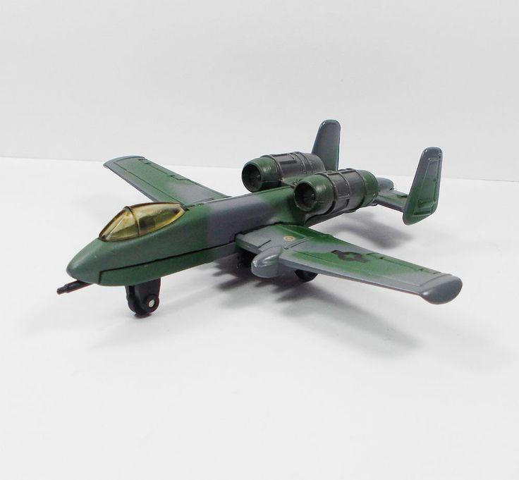 Matchbox - A-10 Fairchild Thunderbolt SB-32 - Die-cast Toy Model 1989 (1)