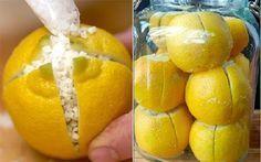 Coloca un limón cortado en varias áreas de tu hogar y mira lo que sucede!! Increíble!!