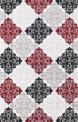 Padişah Halı Duru DR031 095 Kırmızı Siyah  | Halial