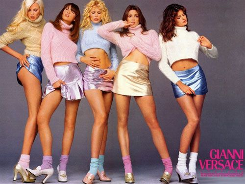 Introducing the 25 most memorable fashion moments of the '90s: The Supers (1990)