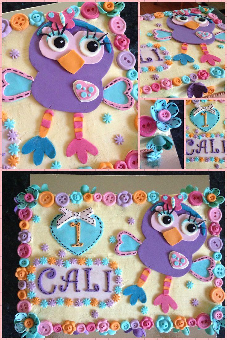 "My "" Hootabelle "" cake"