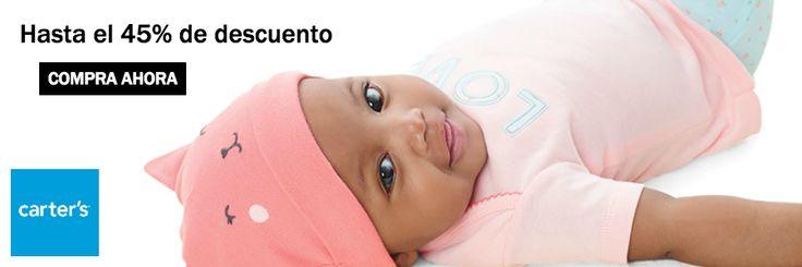 Campaña Carter's ropa de bebé para niña y niño