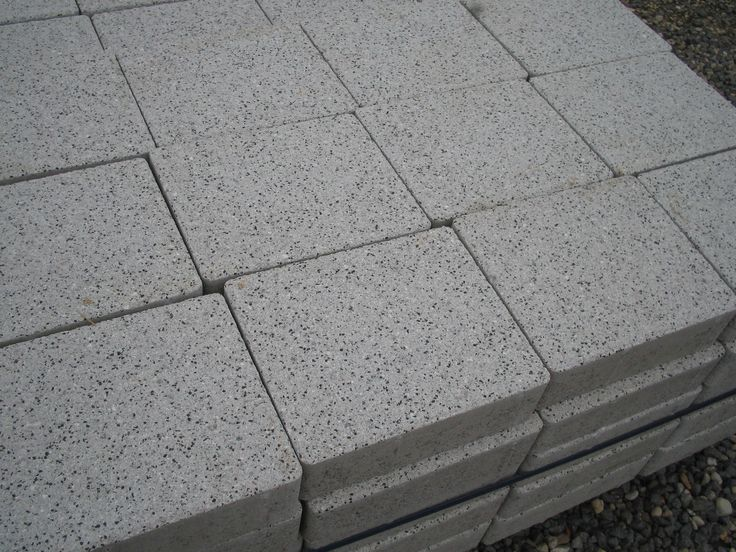 Silver Granite Effect Block Paving Contemporary Shot Blasted Surface Stunning | eBay