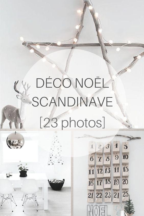 Décoration Noël Scandinave : 23 Photos à découvrir ! http://www.homelisty.com/deco-noel-scandinave-inspirations-idees-23-photos/