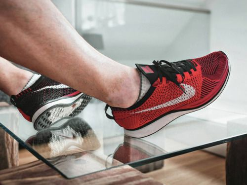 Nike Flyknit Racer - Red/Black - 2013 (by @inwardlybe-represent)