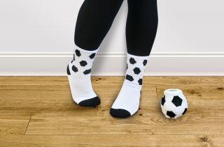 Gestrickte Fußballsocken - Ball Socks