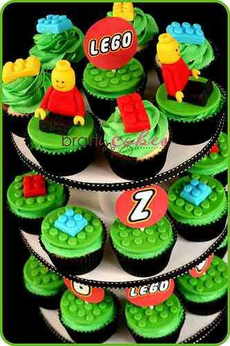 Lego: @Dana Cuevas  Let's do cupcakes! I'll get lego guys for toppers =)